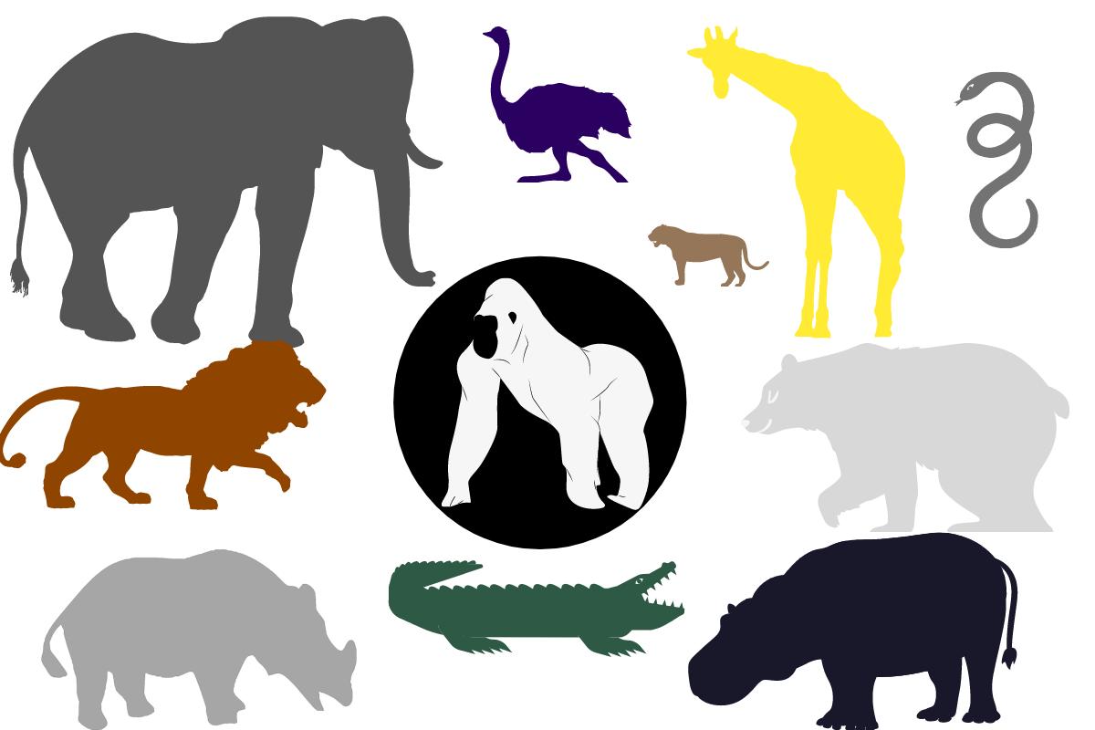 ゴリラと強さを比較する強い動物10選